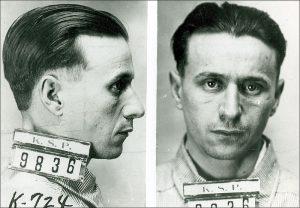 Mug Shot Fred Barker